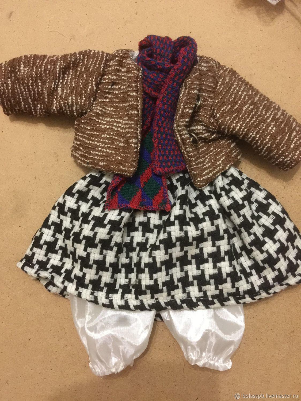 Одежда для кукол платье жакет панталоны, Одежда для кукол, Санкт-Петербург,  Фото №1