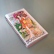 Канцелярские товары handmade. Livemaster - original item Notepad SOULBOOK-ART