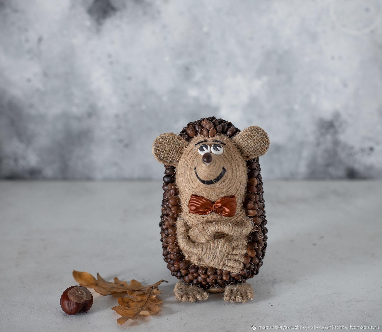 Ароматный кофейный ежик-интеллигент, Элементы интерьера, Белореченск,  Фото №1