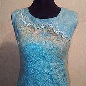 """Одежда ручной работы. Ярмарка Мастеров - ручная работа Платье """"Море"""". Handmade."""