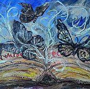 Картины и панно ручной работы. Ярмарка Мастеров - ручная работа Картина Книга счастья. Handmade.