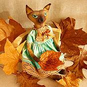 Куклы и игрушки ручной работы. Ярмарка Мастеров - ручная работа Кошка Эсмеральда. Handmade.