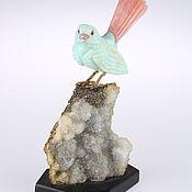 Статуэтки ручной работы. Ярмарка Мастеров - ручная работа Перуанская голубка из натурального опала «Принцесса». Handmade.