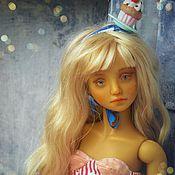 Куклы и игрушки ручной работы. Ярмарка Мастеров - ручная работа Шарнирная кукла Милена. Handmade.