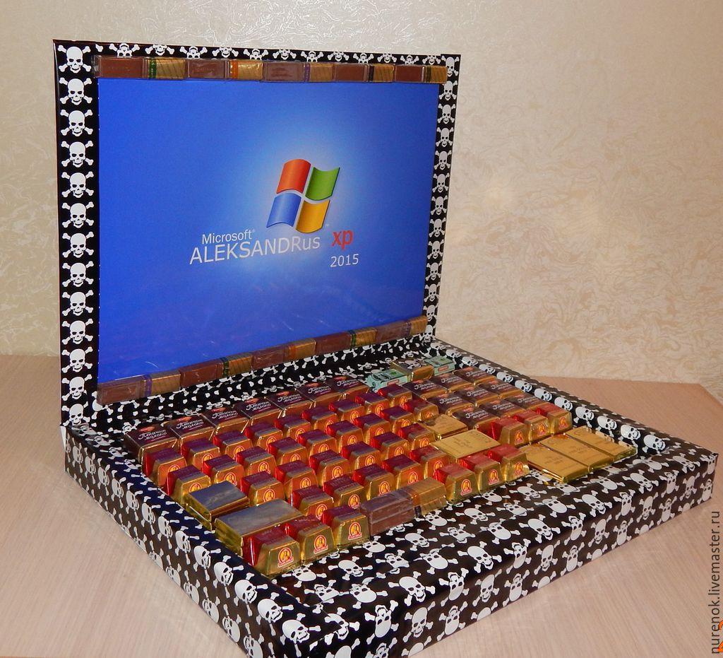 Подарок от мужчины конфеты