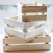Для дома и интерьера ручной работы. Ярмарка Мастеров - ручная работа деревянные ящички для хранения и фотосессии. Handmade.