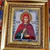 Картины и панно handmade. Livemaster - original item The icon of the Holy Martyr Anastasia. Handmade.