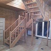 Для дома и интерьера ручной работы. Ярмарка Мастеров - ручная работа лестница из бука. Handmade.