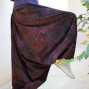 Одежда ручной работы. Ярмарка Мастеров - ручная работа Вельветовые восточные афгани с трикотажным поясом. Handmade.