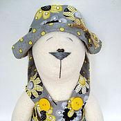 Куклы и игрушки ручной работы. Ярмарка Мастеров - ручная работа Заяц Жасмин (45 см.). Handmade.