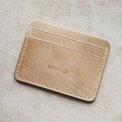 Сумки и аксессуары handmade. Livemaster - original item Cardholders / the Image of genuine calf leather. Handmade.