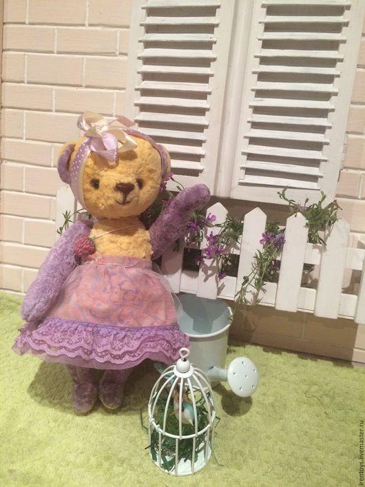 """Мишки Тедди ручной работы. Ярмарка Мастеров - ручная работа. Купить Тедди мишка """" Мимоза"""". Handmade. Лимонный, подарок"""