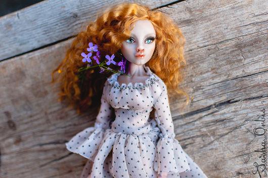 Коллекционные куклы ручной работы. Ярмарка Мастеров - ручная работа. Купить Авторская кукла Ванесса (luna-doll/Vanessa). Handmade. Рыжий