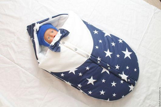 """Для новорожденных, ручной работы. Ярмарка Мастеров - ручная работа. Купить Конверт для новорожденного """"Маленький принц"""" (конверт на выписку). Handmade."""