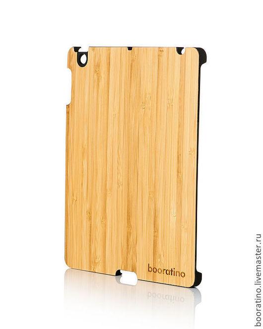Для телефонов ручной работы. Ярмарка Мастеров - ручная работа. Купить Деревянный чехол-бампер для iPad (черный). Handmade. Чехол