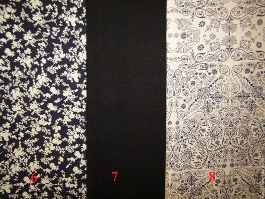 Шитье ручной работы. Ярмарка Мастеров - ручная работа. Купить Лен цветной арт.69 (Корея). Handmade. Синий