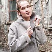 Одежда ручной работы. Ярмарка Мастеров - ручная работа Валяное пальто Ivory Pearl. Handmade.