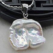 Pendants handmade. Livemaster - original item Pendant Baroque pearl 18h15 mm. Handmade.