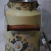 """Посуда ручной работы. Ярмарка Мастеров - ручная работа Бидон-ваза """"Вьюнок"""". Handmade."""