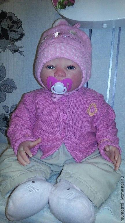 Куклы-младенцы и reborn ручной работы. Ярмарка Мастеров - ручная работа. Купить кукла реборн Питуния.. Handmade. Ярко-красный