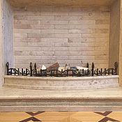 Для дома и интерьера ручной работы. Ярмарка Мастеров - ручная работа Декоративное ограждение камина. Handmade.