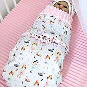 Одежда ручной работы. Ярмарка Мастеров - ручная работа Кокон для новорожденных. Handmade.