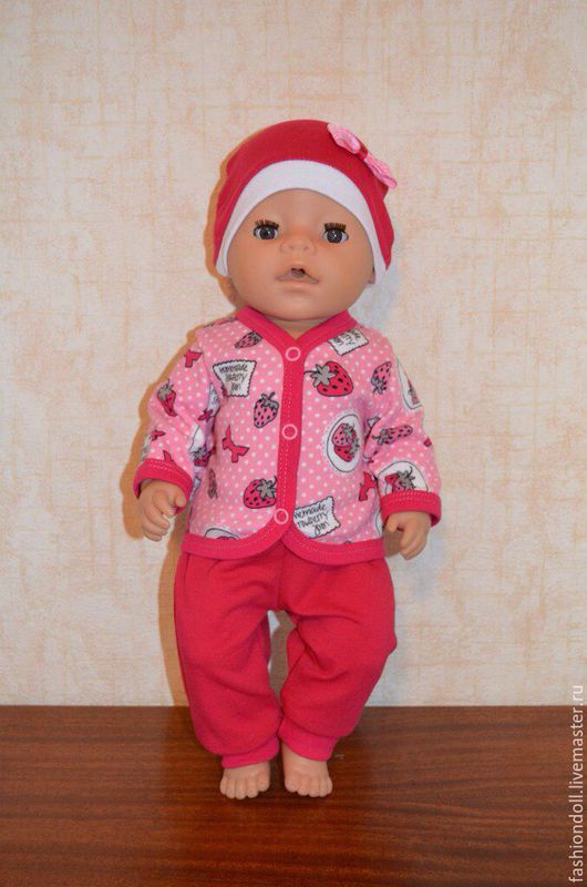 Одежда для кукол ручной работы. Ярмарка Мастеров - ручная работа. Купить Костюм для Baby Born. Handmade. Разноцветный, Беби Борн