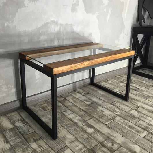Мебель ручной работы. Ярмарка Мастеров - ручная работа. Купить Журнальный стол CANYON.. Handmade. Комбинированный, мебель из металла, сосна