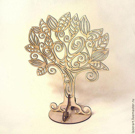 Статуэтки ручной работы. Ярмарка Мастеров - ручная работа. Купить Сказочное деревце. Handmade. Бежевый, деревянные заготовки, дерево жизни