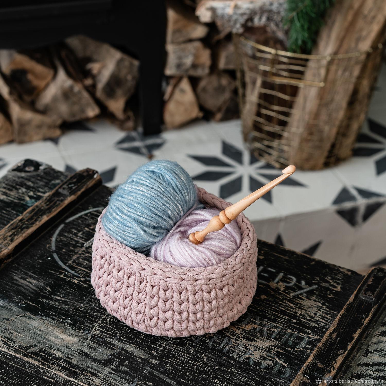 Knitting hook made of Siberian cedar wood 8 mm. K186, Crochet Hooks, Novokuznetsk,  Фото №1