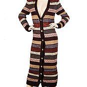 Одежда handmade. Livemaster - original item Long cardigan hand knitted. Handmade.