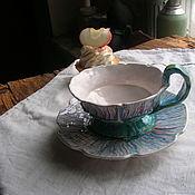 """Чайные пары ручной работы. Ярмарка Мастеров - ручная работа Чайная пара """"Репейник"""". Handmade."""