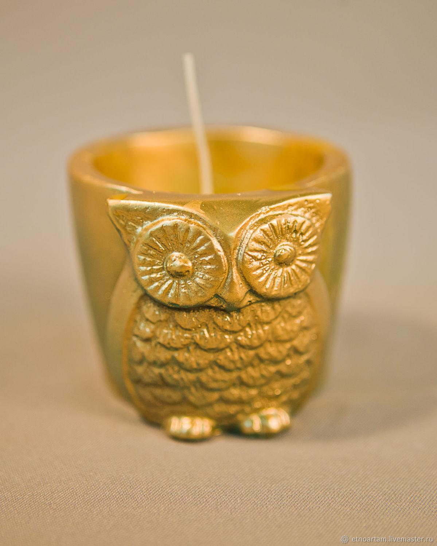 Большая золотая сова, Свечи, Тарко-Сале,  Фото №1