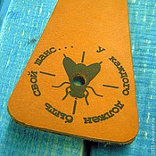 Сувениры и подарки handmade. Livemaster - original item fly swatter. Handmade.