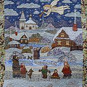 """Картины и панно ручной работы. Ярмарка Мастеров - ручная работа Панно  из серии """" Рождество"""". Handmade."""