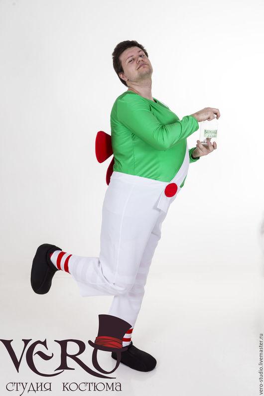 Карнавальные костюмы ручной работы. Ярмарка Мастеров - ручная работа. Купить Костюм Карлсона. Handmade. Зеленый, детский праздник