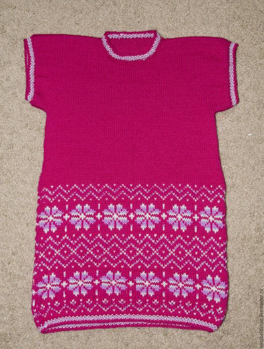 Одежда для девочек, ручной работы. Ярмарка Мастеров - ручная работа. Купить детское платье Isla. Handmade. Комбинированный, розовый