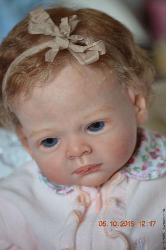 Куклы-младенцы и reborn ручной работы. Ярмарка Мастеров - ручная работа. Купить Маленькая Гелия. Handmade. Разноцветный, реборн