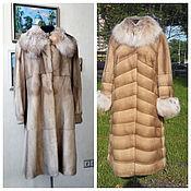 Одежда handmade. Livemaster - original item Mink coat . Cover. Handmade.