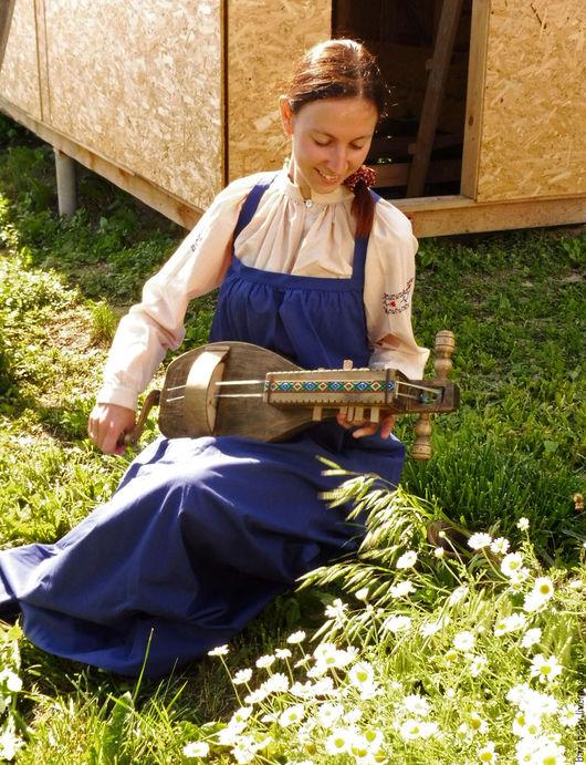 Струнные инструменты ручной работы. Ярмарка Мастеров - ручная работа. Купить Колесная лира. Handmade. Колесная лира, дерево