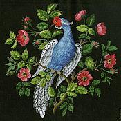 Материалы для творчества ручной работы. Ярмарка Мастеров - ручная работа Райская птица лоскут ткани. Handmade.