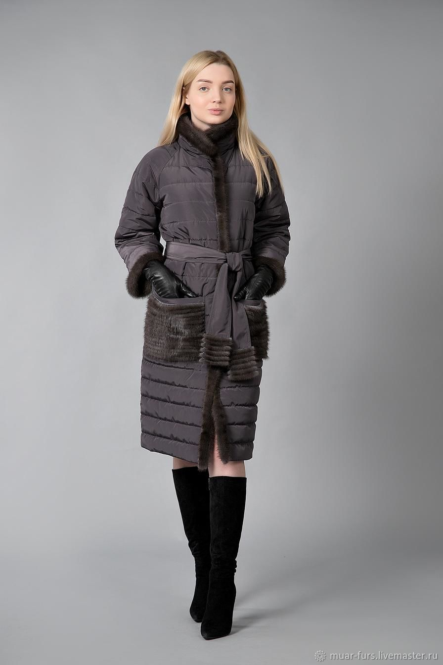 Light overcoat.Quilted coat.Coat for autumn, Coats, Kirov,  Фото №1