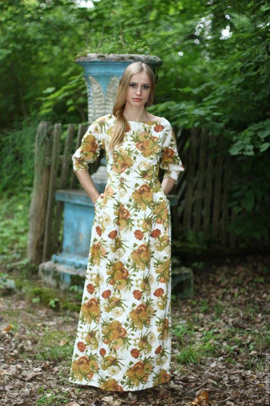 """Платья ручной работы. Ярмарка Мастеров - ручная работа. Купить Платье  """"Алиса"""". Handmade. Красивое платье, белый, платье летнее"""