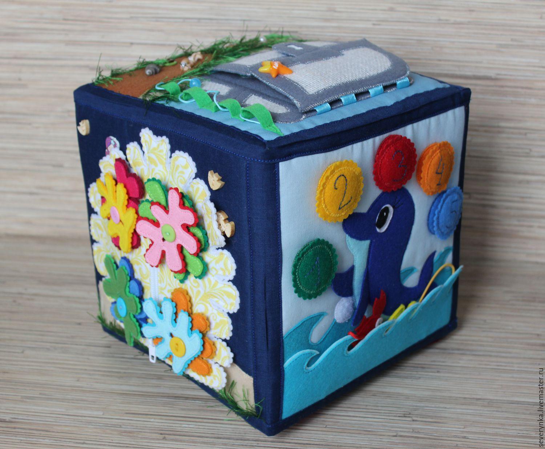 Развивающий кубик своими руками идеи фото