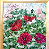 """Картины и панно ручной работы. Ярмарка Мастеров - ручная работа Картина """"Лето"""". Handmade."""