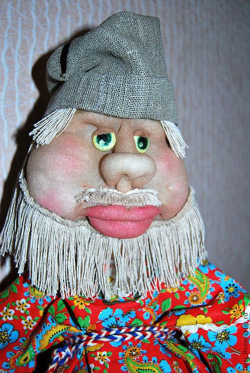 Коллекционные куклы ручной работы. Ярмарка Мастеров - ручная работа. Купить Домовята. Handmade. Домовенок, дом, хлопок, проволока