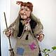 Order Doll Baba Yaga 5. With smile. Livemaster. . Dolls Фото №3