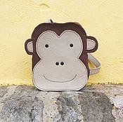 Работы для детей, ручной работы. Ярмарка Мастеров - ручная работа Рюкзак детский - обезьянка. Handmade.