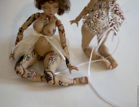 """Одежда для кукол ручной работы. Ярмарка Мастеров - ручная работа. Купить Одежда для кукол """"Комариные крылья"""". Handmade. Бежевый, юбка"""