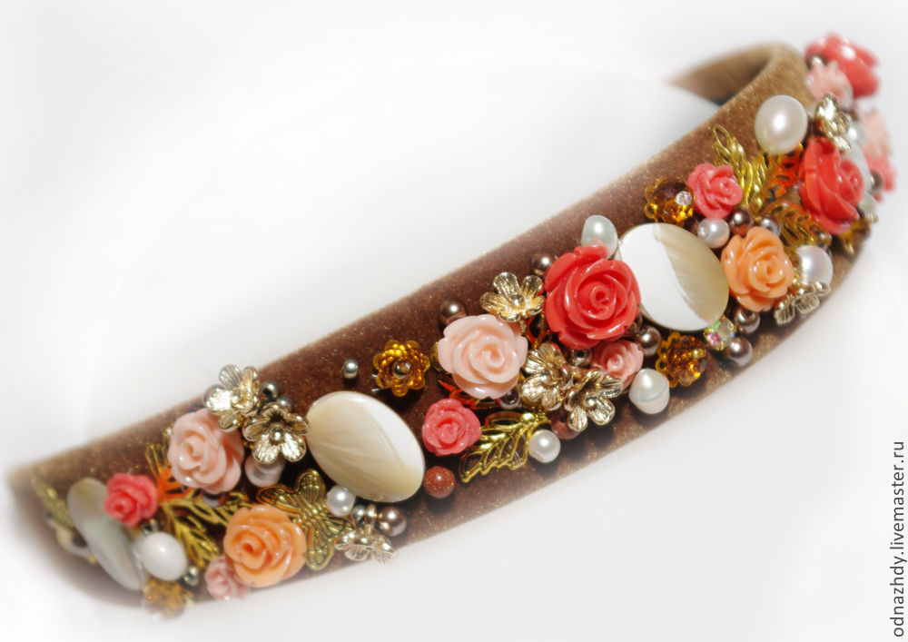 Bezel 'Mystery' in the style of D&G, Headband, Moscow,  Фото №1